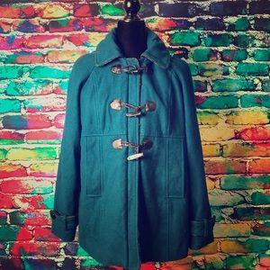 Teal Steve Madden Pea Coat
